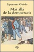 """""""Más Allá de la Democracia"""". Esperanza Guisán"""