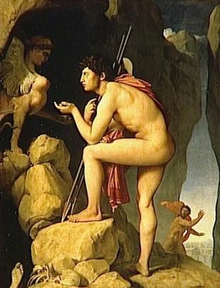 Édipo e a Esfinge