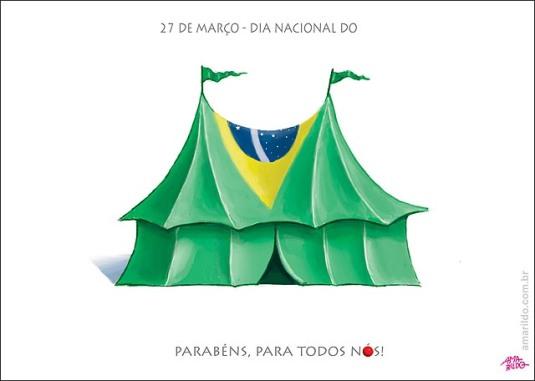 Dia di circo Congresse Planalto dilma urna