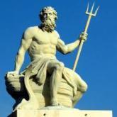 Poseidon (grego). Netuno (latim)