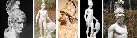 Ares (grego). Marte (latim)