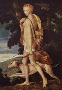 Artemis (grego). Diana (latim)
