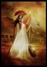 Atena (grego). Minerva (latim)